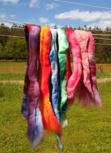 drying dyeing.