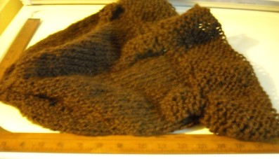 brown wide brim hat to felt