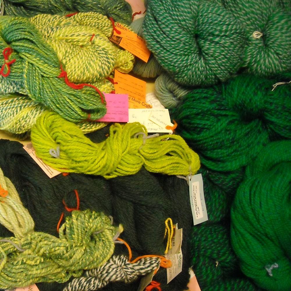 sorting greens