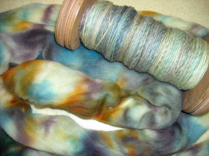 single yarn and top