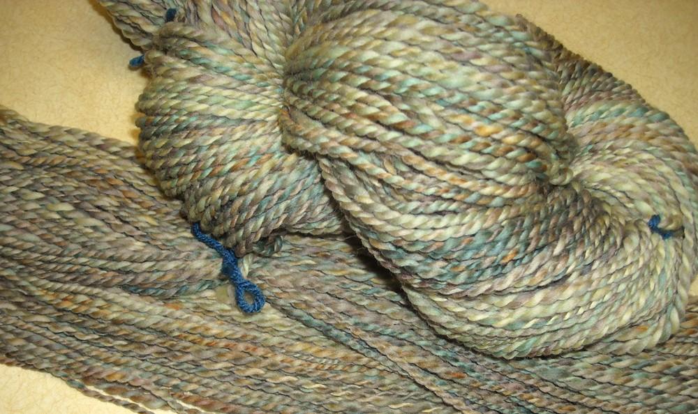 finished pliedwool yarn