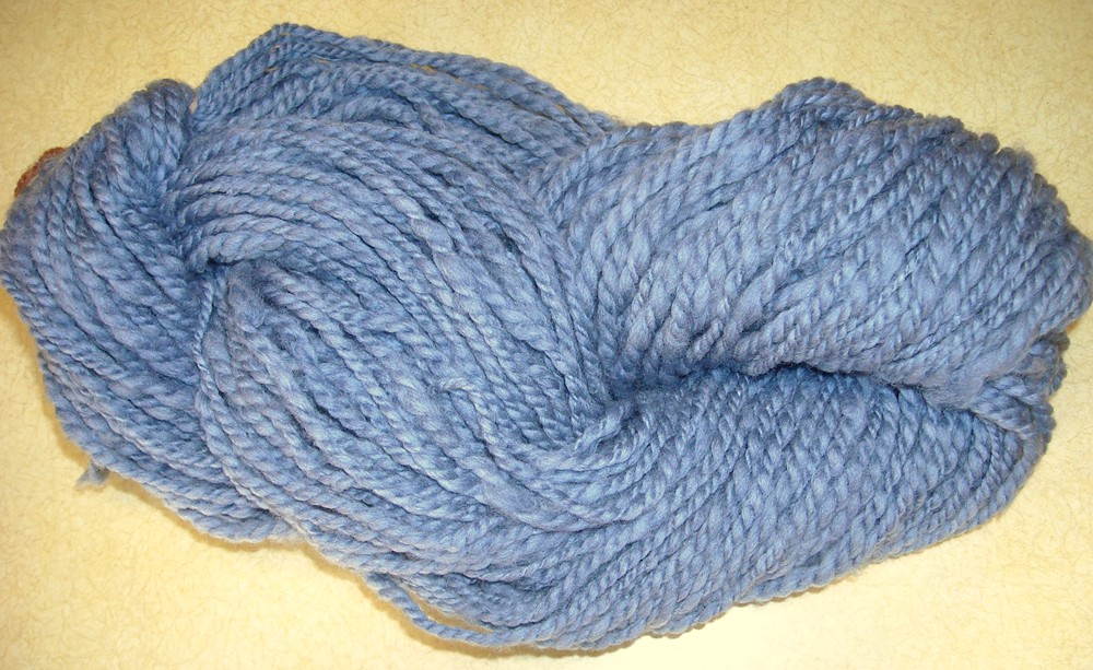skein of super wash merino