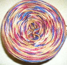 ball of sock yarn