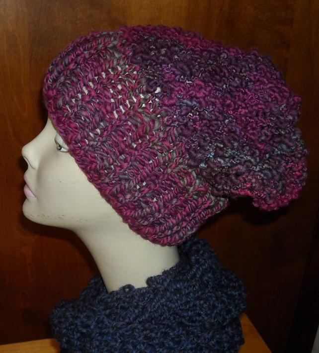 bulky knit hat