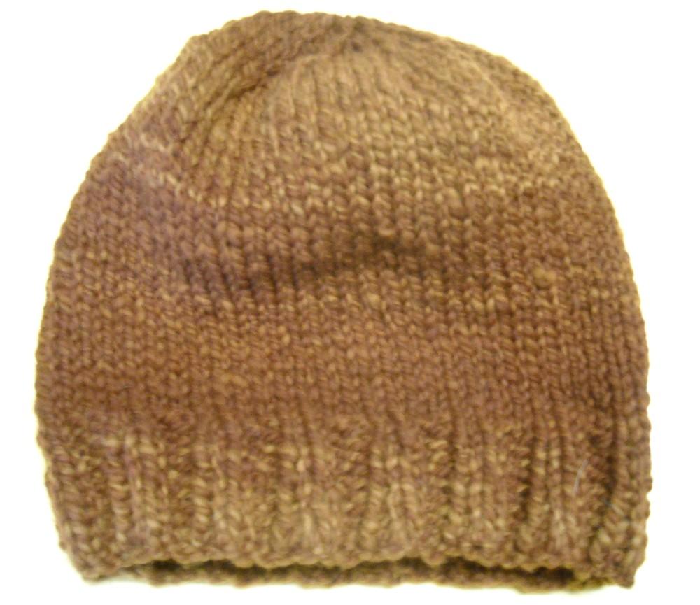 knit from hand spun