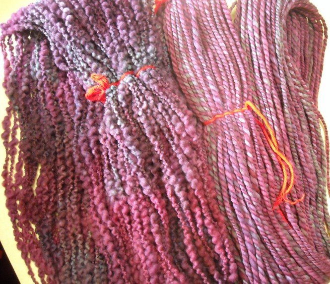 thick and thin with handspun