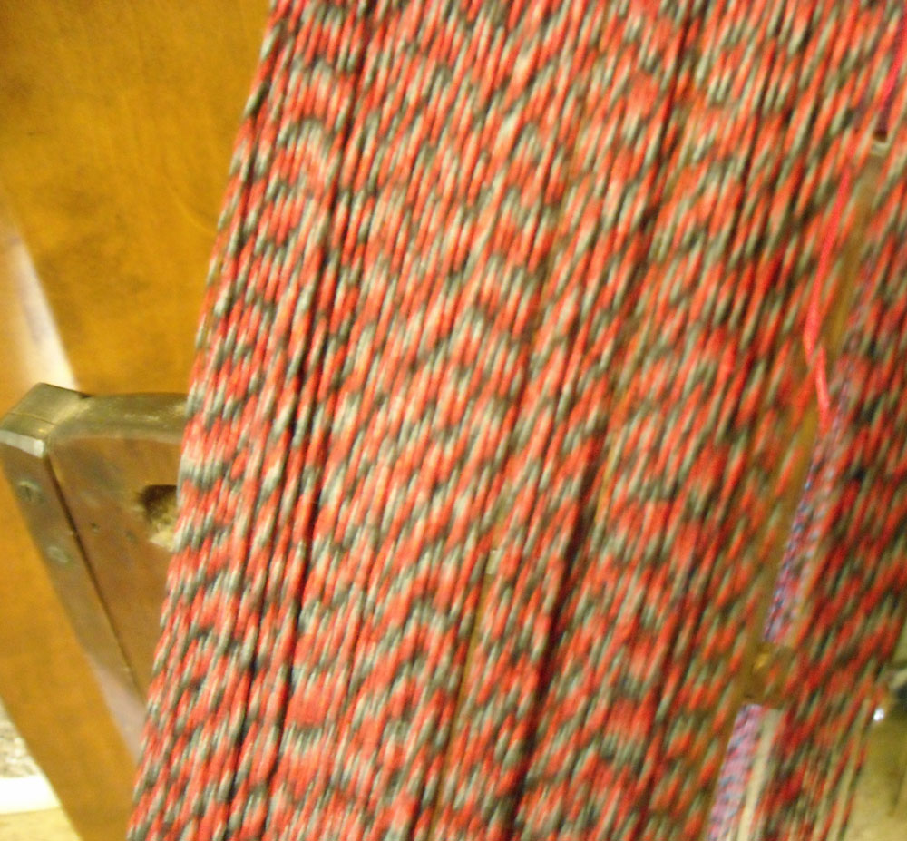 plied linen yarn
