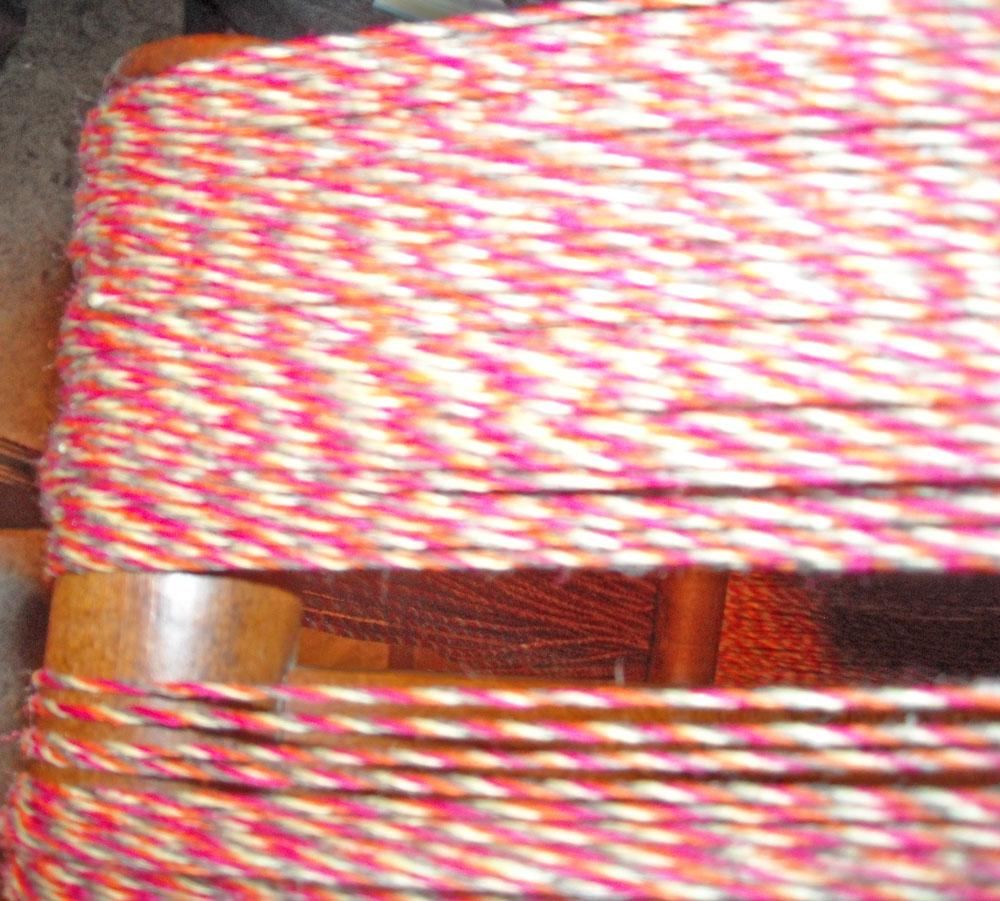 linen yarn plied